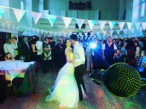live wedding bands perform at trent building nottingham university